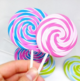 Lollipop Radiergummi