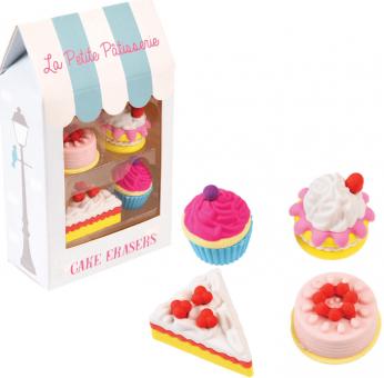 Radiergummi Set Kuchen