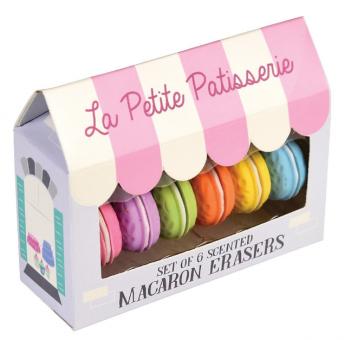 Radiergummi Set Macarons