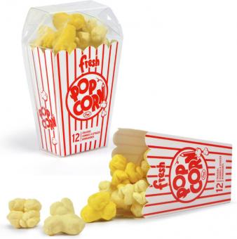 Radiergummis Popcorn
